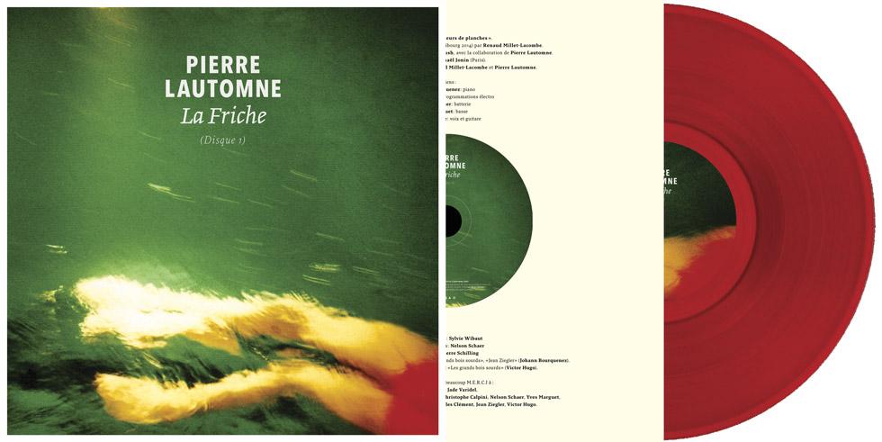 Pierre Lautomne - La Friche (Disque 1) - Vinyle + CD